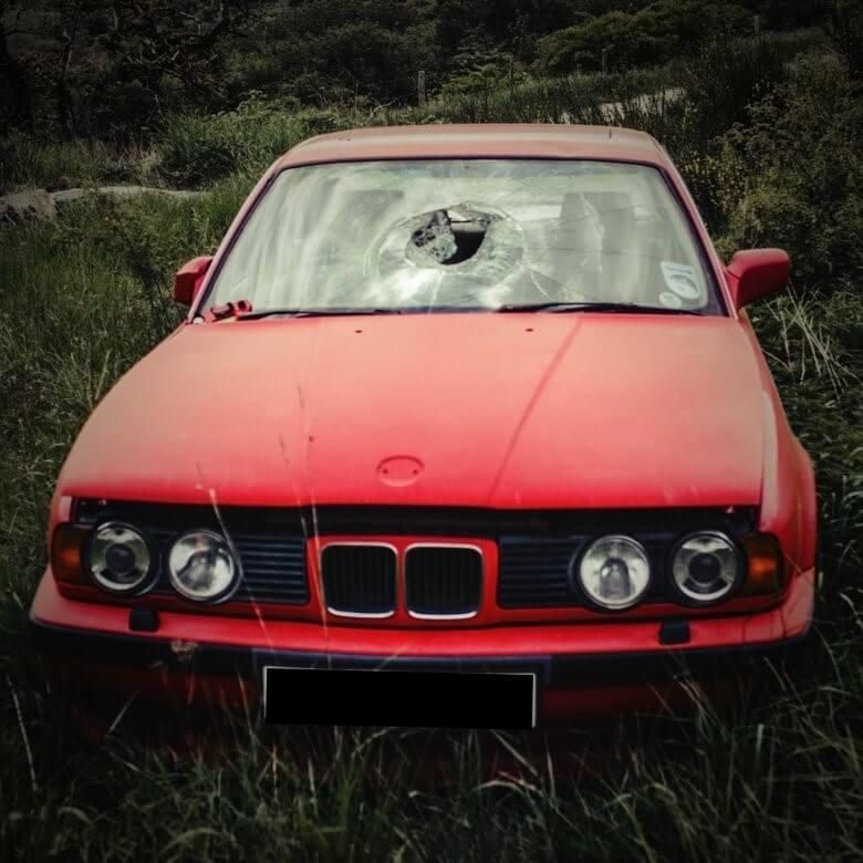 coche abandonado